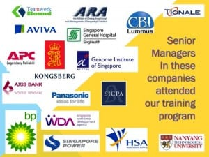 Senior managers that we worked with
