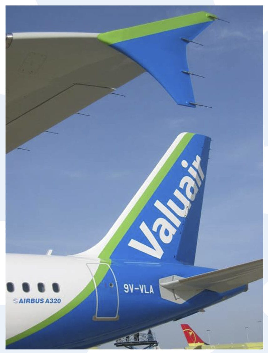 Singapore's first low cost carrier Valuair