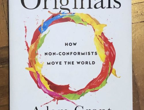 Originals – How we get stuck, a summary of my main thoughts