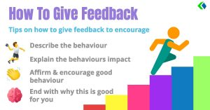 How to give feedback to encourage